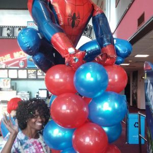 Large $150 Spiderman (Mylar + $25)