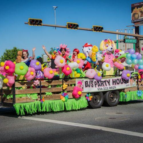 Parade Balloon Float $475
