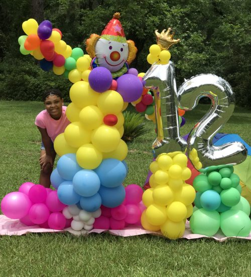 Birthday Display $150 (Each Mylar Number or Letter + $25)